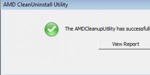AMD Clean Uninstall Utility indir