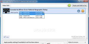 ChrisPC Free VideoTube Downloader indir