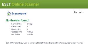ESET Online Scanner indir